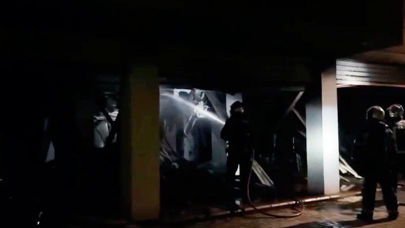 Incendio en una vivienda de Torrejón con una persona afectada por inhalación de humo