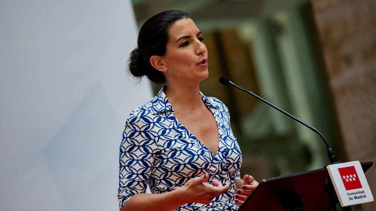 La líder de Vox Madrid, Rocío Monasterio