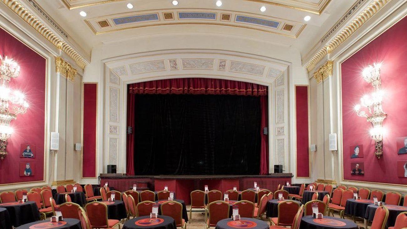 Sala de La Chocita del Loro en el Hotel Senator de la Gran Vía