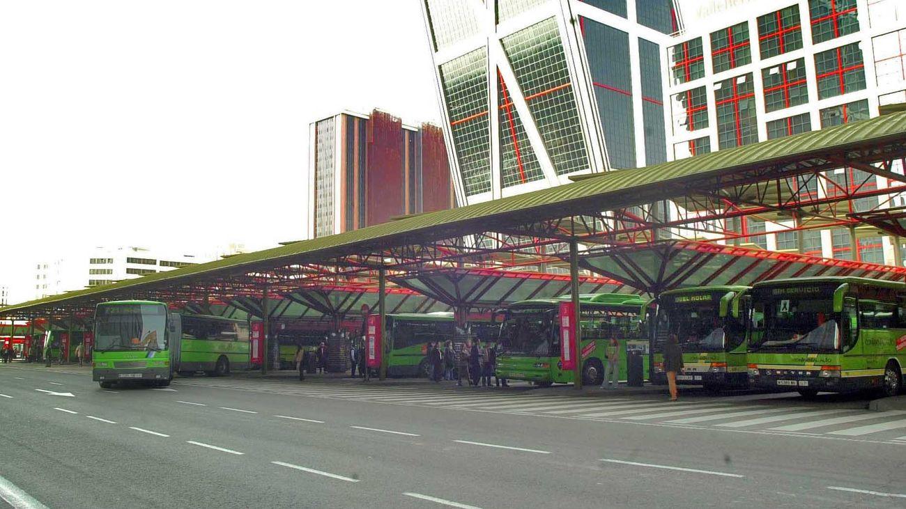 Intercambiador de transportes de Plaza de Castilla