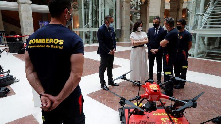 Más dinero y más drones contra los incendios en Madrid de cara a este verano
