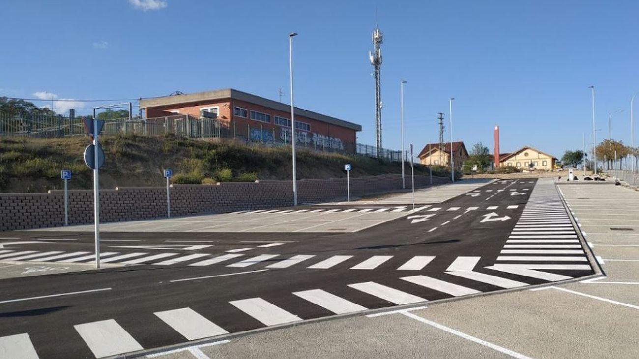 Nuevo aparcamiento multimodal de Pitis en Fuencarral-El Pardo