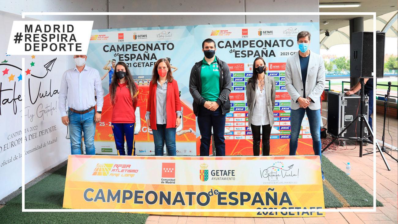 Presentación del Campeonato de España de Atletismo