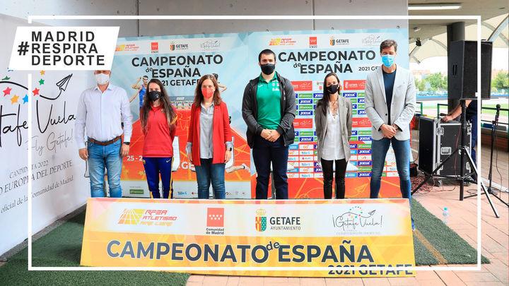 Getafe  acoge el Campeonato de España de Atletismo