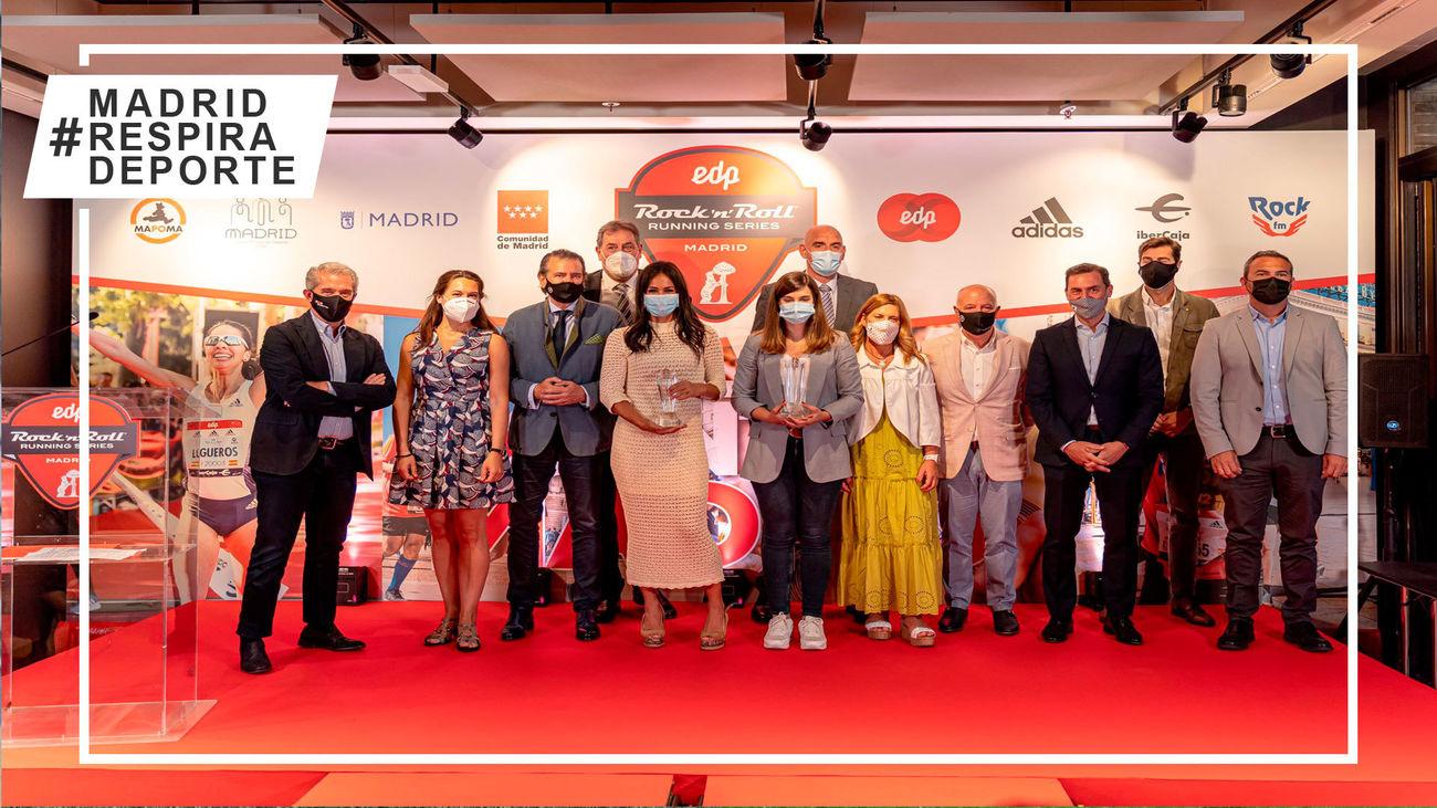 Presentación del Maratón de Madrid