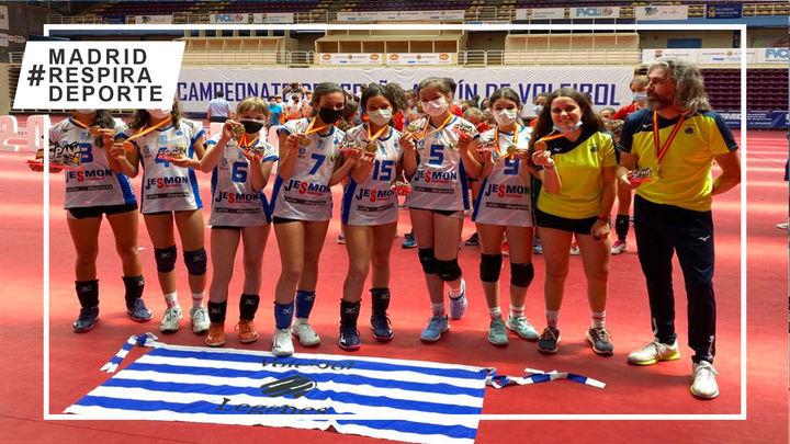 Voleibol Leganés, campeón de España Alevín