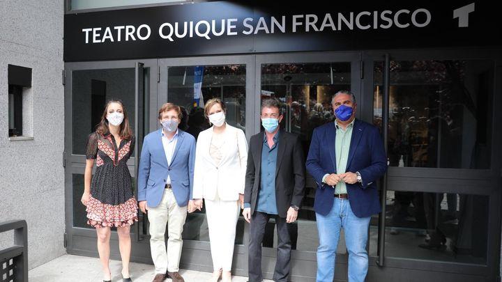 El Teatro Galileo cambia su nombre en honor a Quique San Francisco