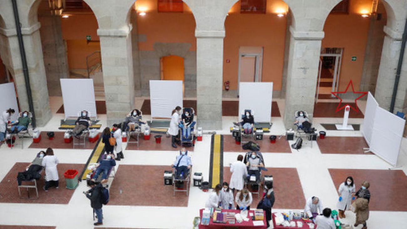 La Real Casa de Correos acogió una campaña de donación de sangre el pasado mes de enero
