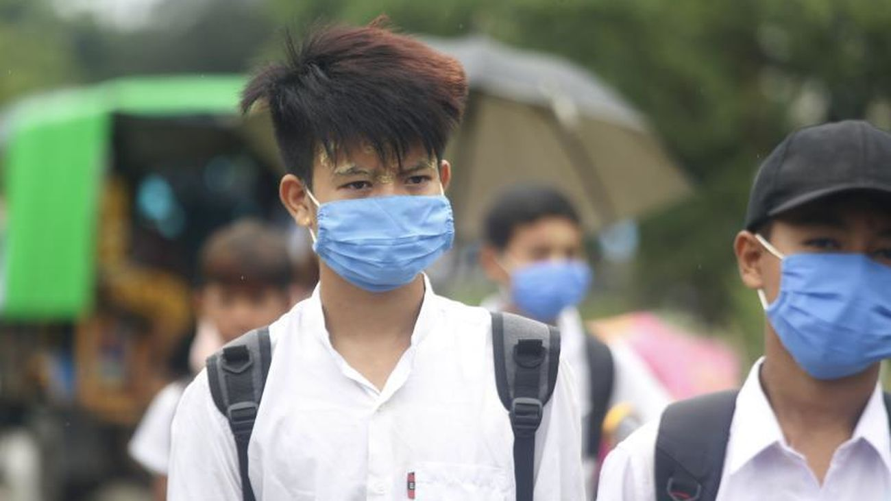El uso en el mundo de las mascarillas de protección contra el coronavirus