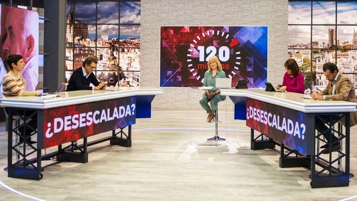 '120 Minutos' cumple tres años en Telemadrid y cierra su mejor temporada con un 11,1% de share