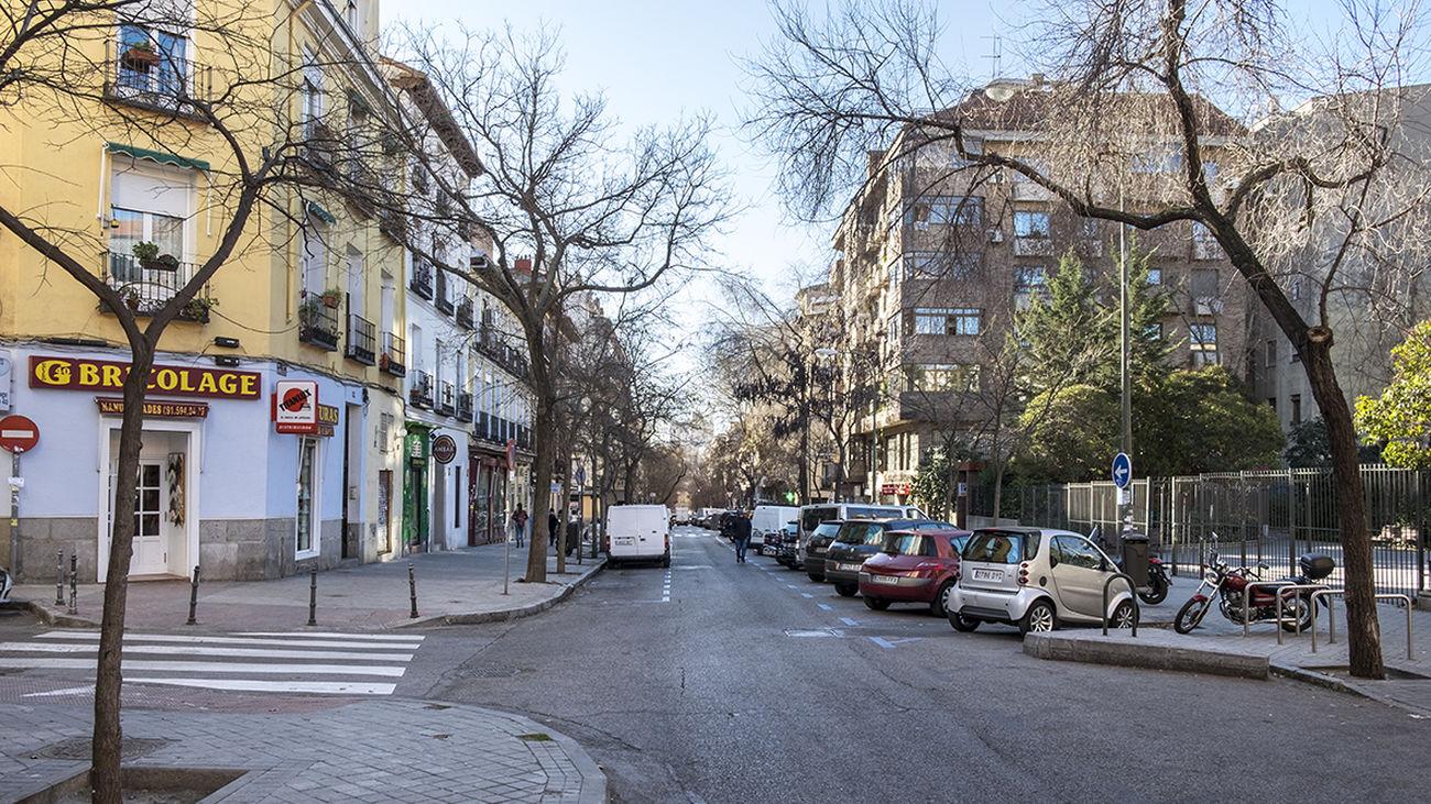Calle Galileo en Chamberí