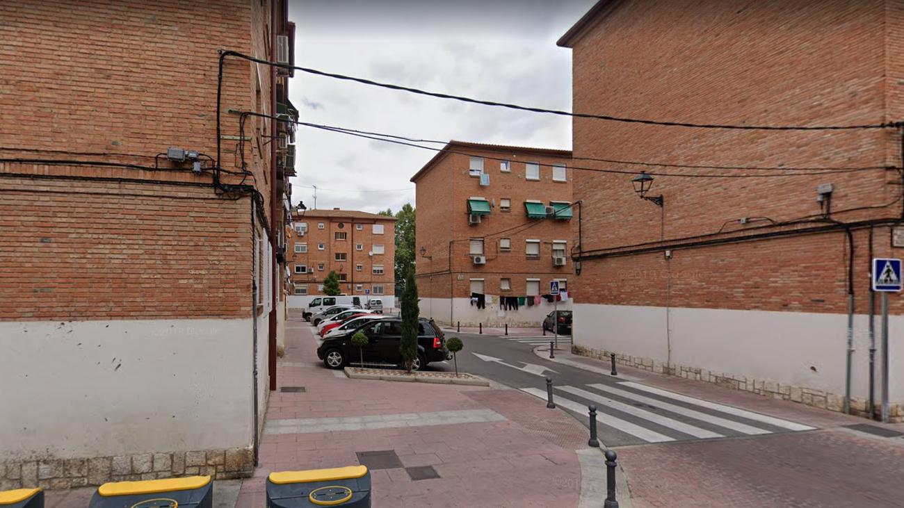 Calles y edificios del centro de Torrejón de Ardoz