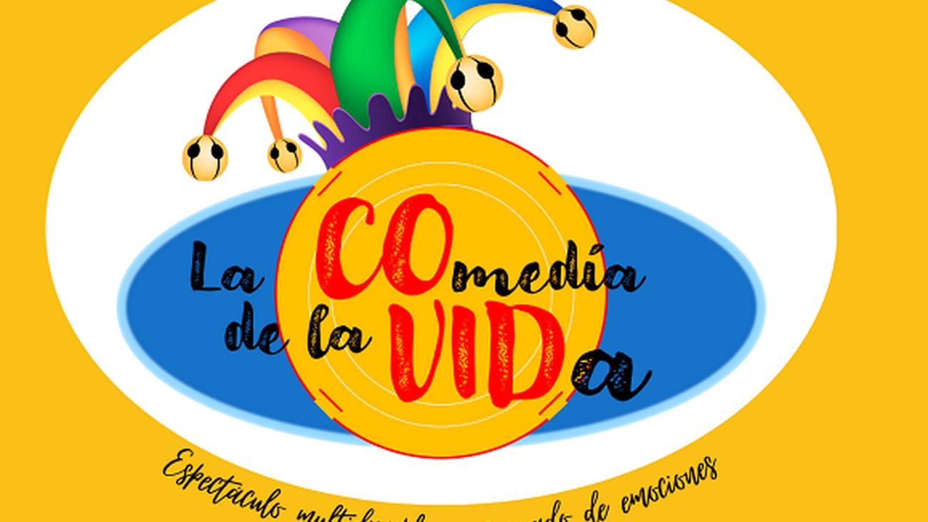 Cartel anunciador del homenaje a las víctimas de la Covid-19