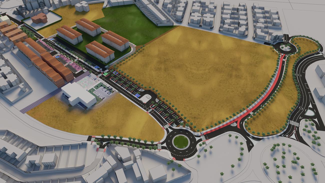 Ilustración del resultado de la reordenación en Mejorada del Campo
