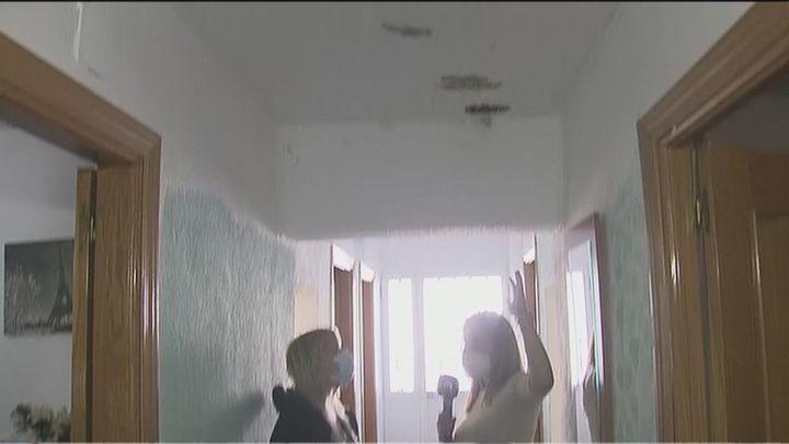 'Llueve' dentro de su casa en San Martín de la Vega
