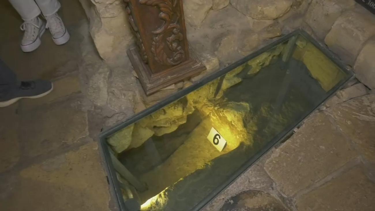 Las obras de restauración para abrir un restaurante descubrieron esta antigua casa de los templarios en Lecce