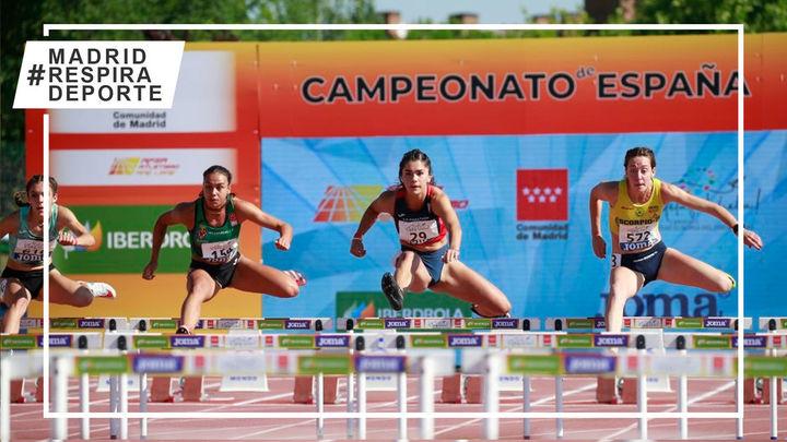 Casi un centenar de atletas de Madrid participan en el Campeonato de España en Getafe