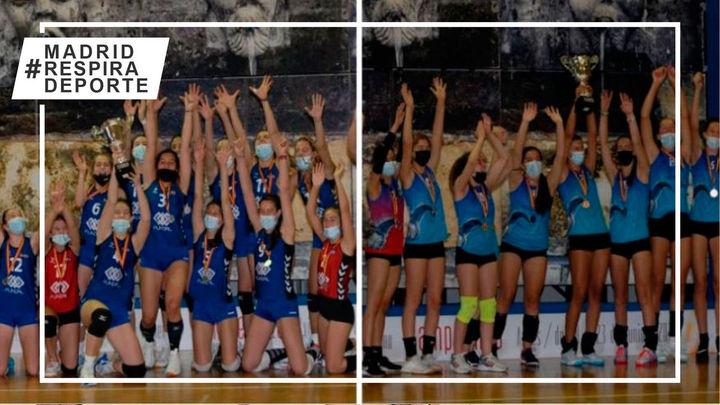 Alcobendas, plata, y Majadahonda, bronce,  en el Campeonato de España Cadete femenino de voleibol