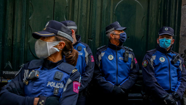 Madrid suma 200 policías municipales para vigilar las situaciones tras la eliminación de la mascarilla al aire libre