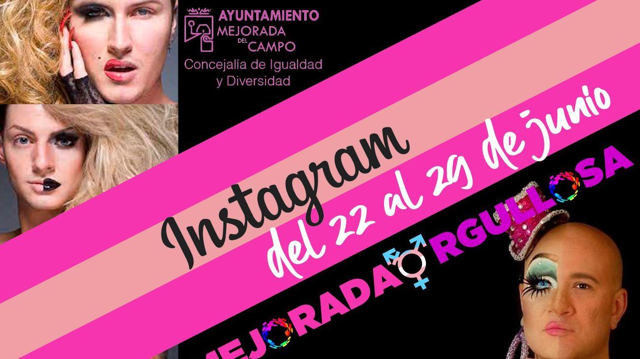 Cartel del concurso Drag Queen de Mejorada del Campo