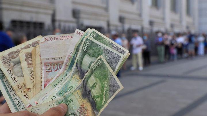 En seis días las pesetas pasarán a ser sólo un recuerdo