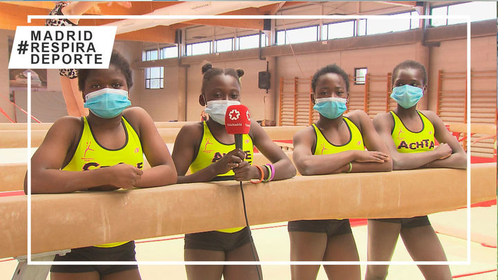 Pioneras de la gimnasia en Chad