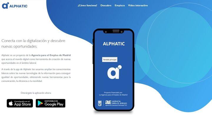 Nueva aplicación para fomentar la alfabetización digital de los desempleados de Madrid