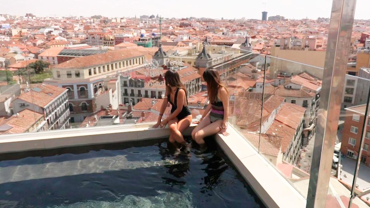 La sky pool de Madrid más fotografiada para redes sociales
