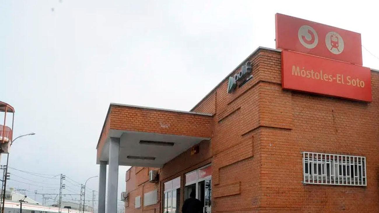 Estación de Cercanías Móstoles-El Soto