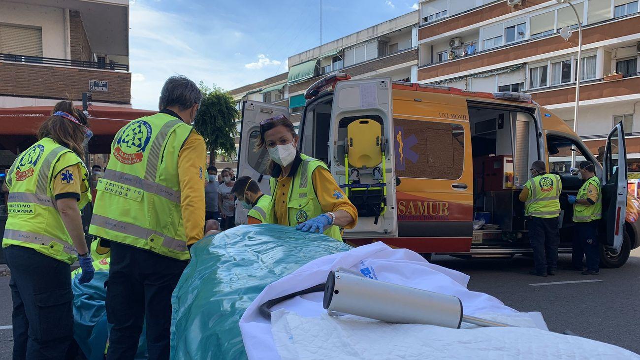 Herido grave un joven de 20 años tras ser atropellado por un turismo en Aluche
