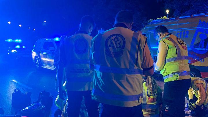Muere un motorista de 22 años en Sinesio Delgado tras colisionar con un VTC