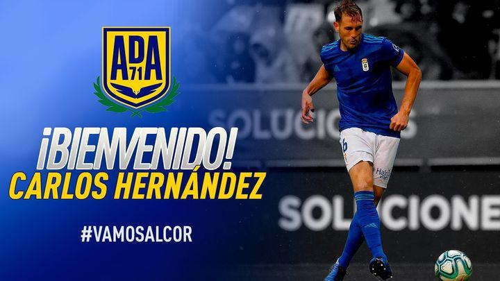 Carlos Hernández ficha por el Alcorcón para las dos próximas temporadas