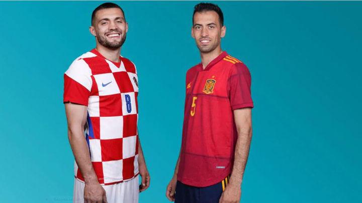 España y Croacia cruzan sus caminos en octavos de final