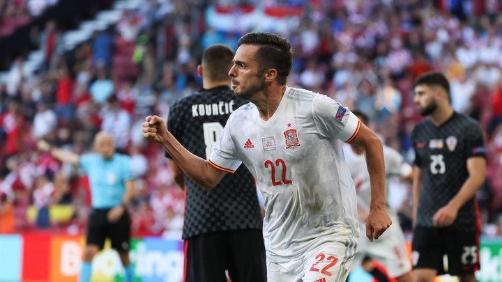 3-5. España se mete en cuartos con dos goles en la prórroga ante Croacia