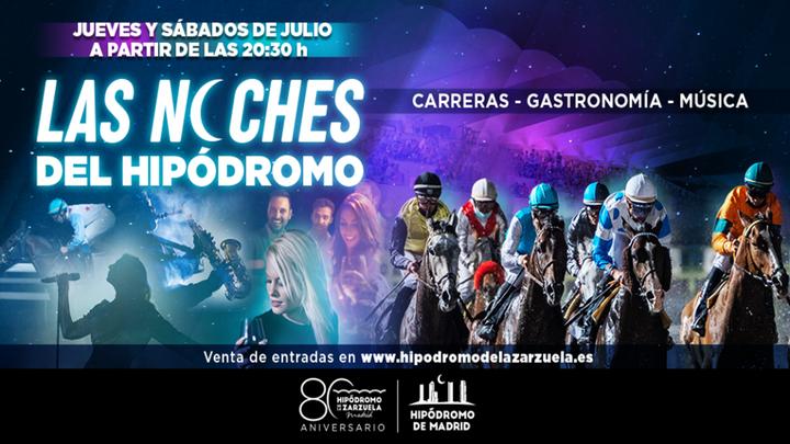 Flamenco y el doble de carreras de caballos en 'Las noches del hipódromo'