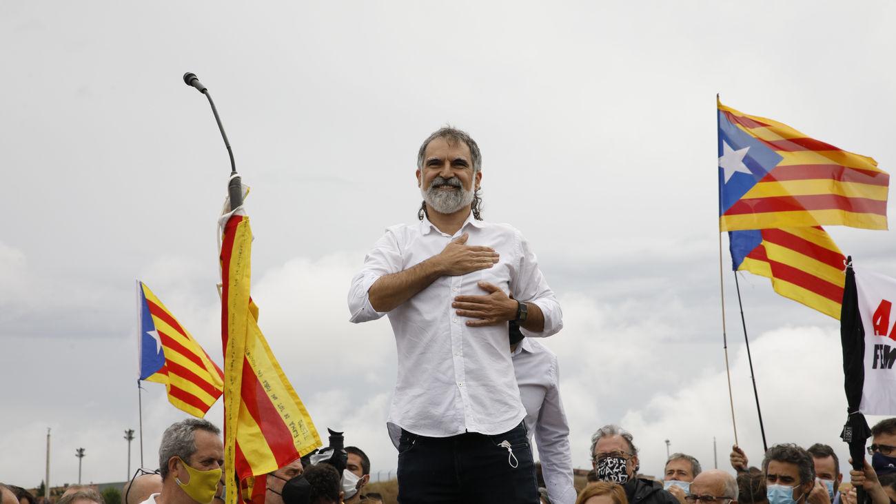 El presidente de Òmnium Cultural, Jordi Cuixart