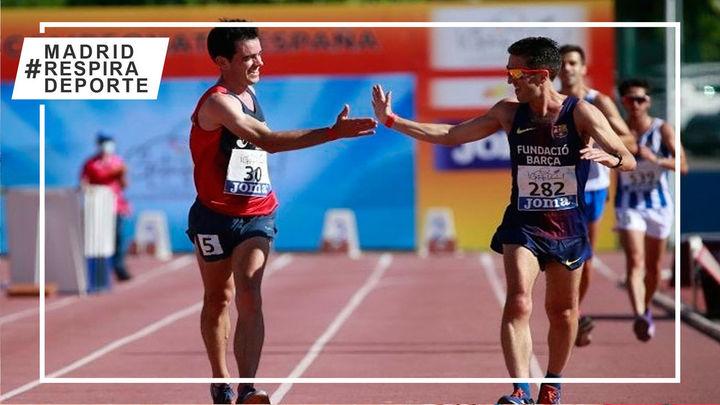 Los atletas madrileños suman doce medallas en el Campeonato de España