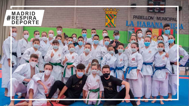 Alcalá consigue 40 medallas en los juegos municipales Deuko 2021 de karate
