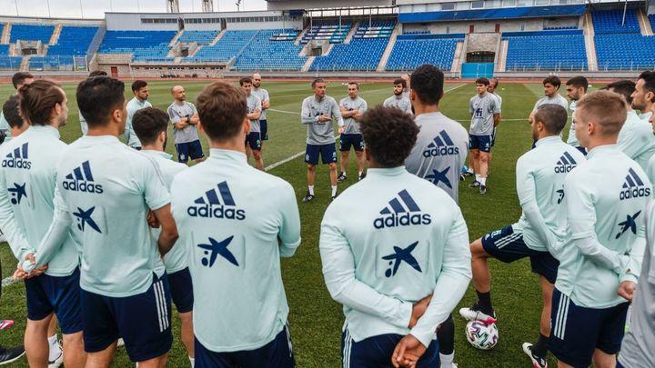 La Selección española ya prepara los cuartos en San Petersburgo