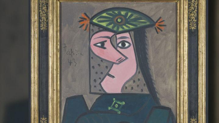Vuelve al Prado el cuadro 'Buste de Femme 43' como depósito a cinco años