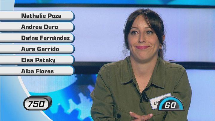 Demuestra cuánto sabes sobre actrices madrileñas con este panel de 'Atrápame si puedes'