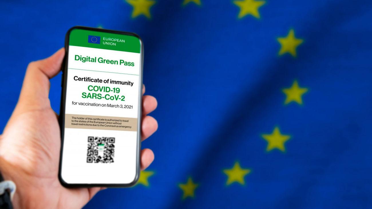 Certificado covid de la UE