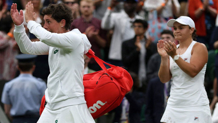Carla Suárez dice adiós en su último Wimbledon tras caer con honores