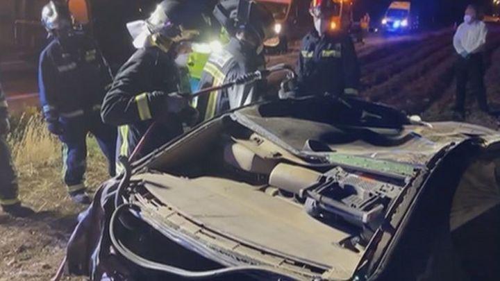 Dos muertos en una accidente de tráfico en Camarma de Esteruelas