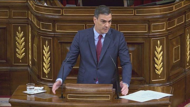 """Sánchez afirma que """"no habrá referéndum de autodeterminación"""" y la oposición no se lo cree"""