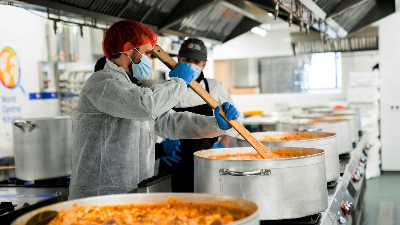 El chef José Andrés y su ONG World Central  Kitchen, Premio Princesa de Asturias de la Concordia 2021