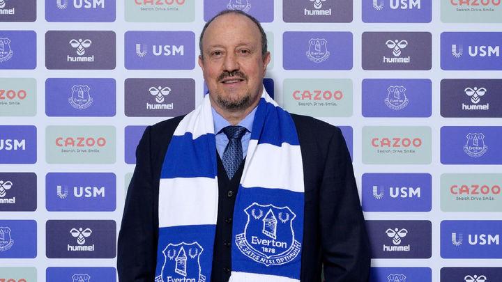 El madrileño Rafa Benítez, nuevo entrenador del Everton