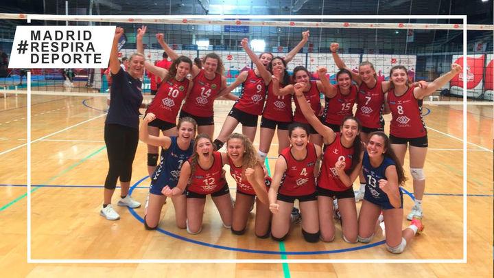 Voleibol Alcobendas, medalla de bronce del Campeonato de España Juvenil femenino