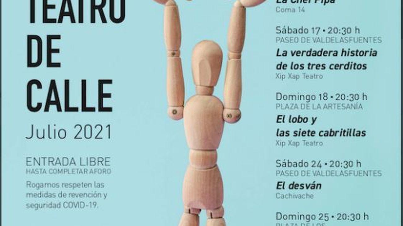 Alcobendas retoma su ciclo de teatro de calle para promover la cultura segura