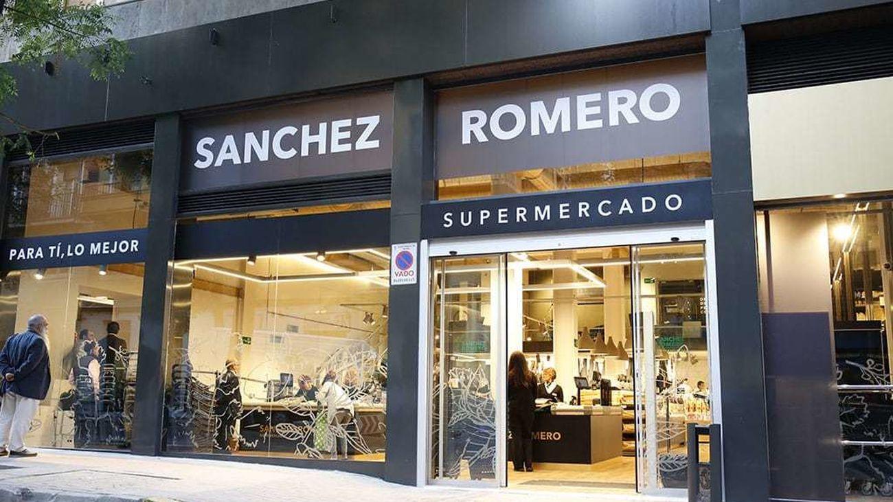 Supermercado Sánchez Romero en Madrid